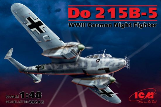ICM Dornier Do 215B-5 makett