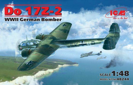 ICM Dornier Do 17Z-2 WWII German Bomber makett