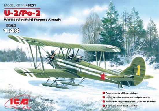 ICM Polikarpov U-2/Po-2 makett