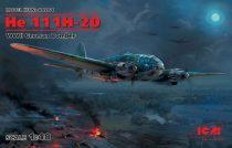 ICM He 111H-20, WWII German Bomber makett