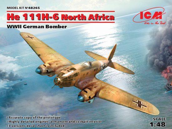 ICM Heinkel He-111H-6 North Africa makett