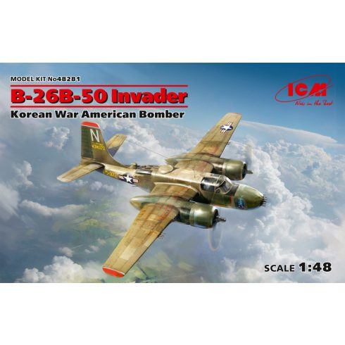 ICM B-26B-50 Invader makett
