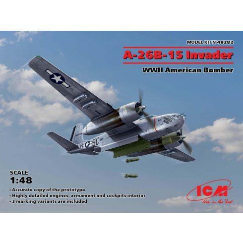 ICM A-26B-15 Invader American Bomber makett