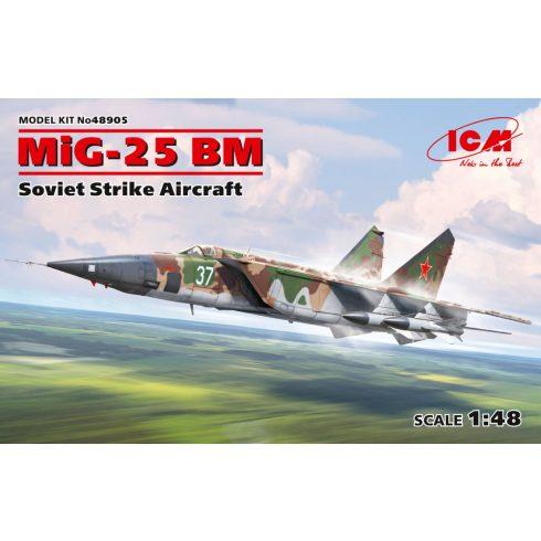 ICM MiG-25 BM, Soviet Strike Aircraft makett