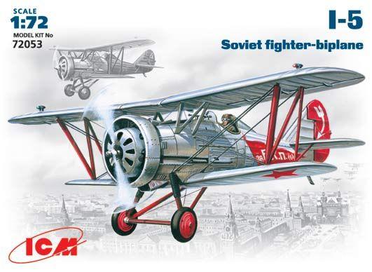 ICM I-5 Soviet fighter makett