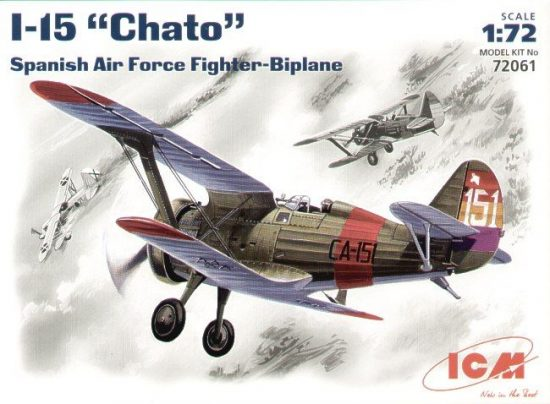 ICM Polikarpov I-15 'Chato' makett