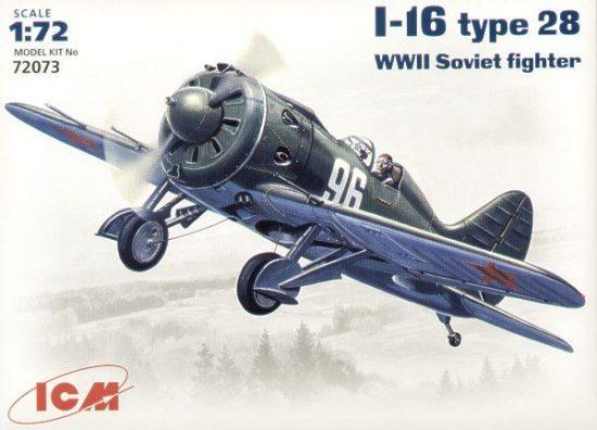 ICM Polikarpov I-16 Type 28 makett