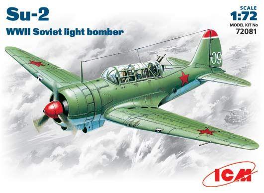 ICM Sukhoi Su-2 makett