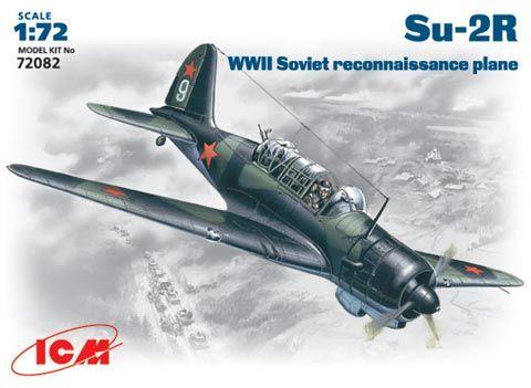 ICM Sukhoi Su-2R makett