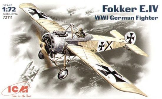 ICM Fokker E.IV makett