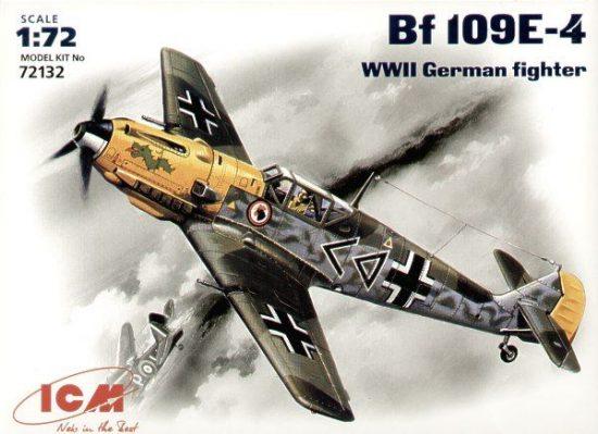 ICM Messerschmitt Bf 109E-4 makett