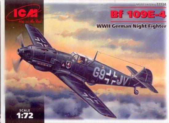 ICM Messerschmitt Bf 109E-4