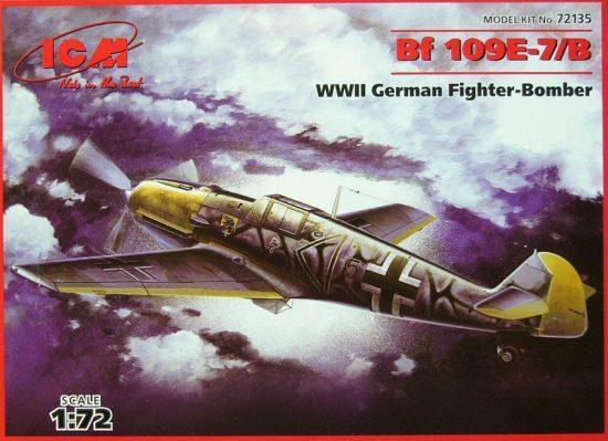 ICM Messerschmitt Bf 109E-7/B makett