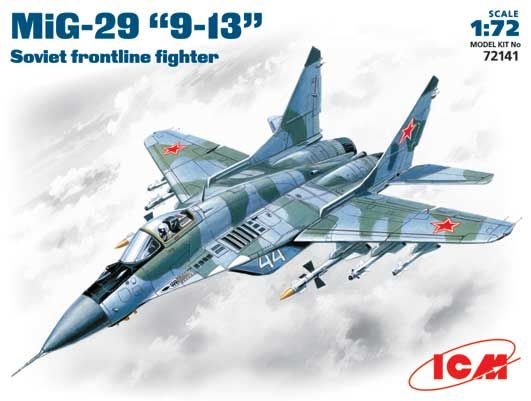 ICM MiG-29 9-13 Soviet Frontline fighter makett