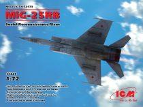 ICM Mikoyan MiG-25RB Soviet Reconnaissance Plane makett