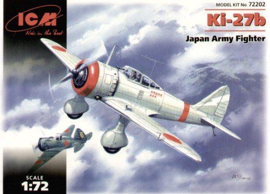 ICM Nakajima Ki-27b makett