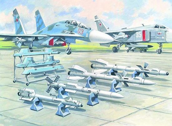 ICM Soviet Air-to-Air Aircraft Armament