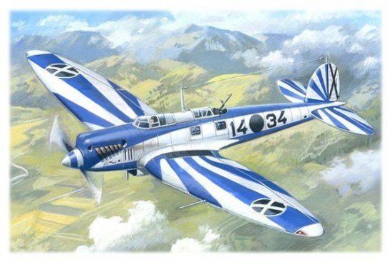 ICM Heinkel He 70F-2 makett