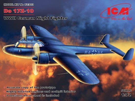 ICM Dornier Do 17Z-10 makett