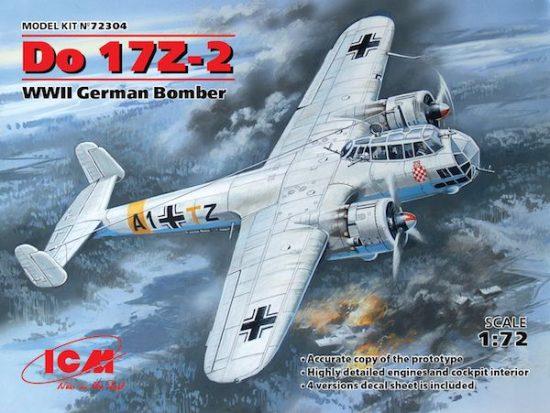 ICM Dornier Do 17Z-2 makett
