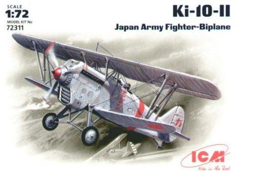 ICM Kawasaki Ki-10 II makett