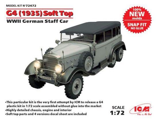 G4 (1935 production) Soft Top makett