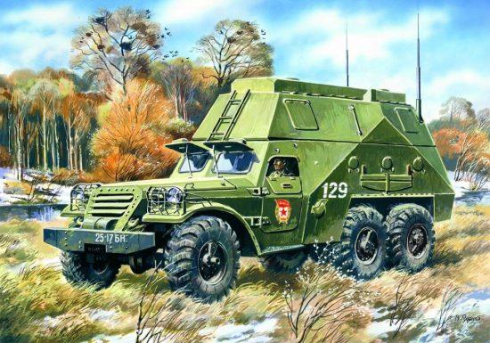 ICM Russian BTR-152S makett