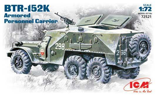 ICM Russian BTR-152K makett