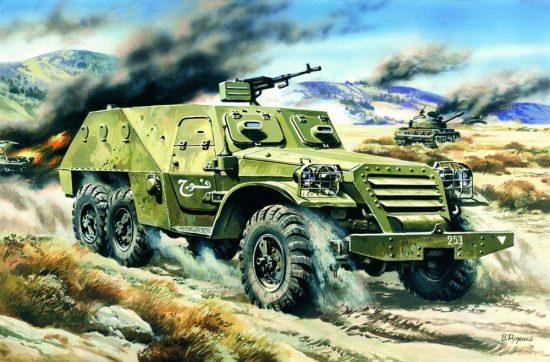 ICM Russian BTR-152V makett