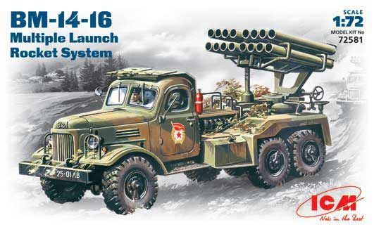 ICM BM-14-16 Katyusha rocket launcher makett