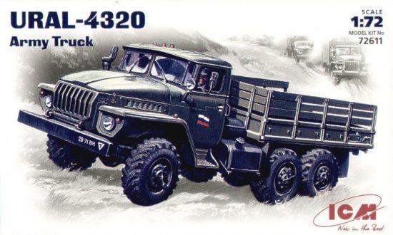 ICM URAL-4320 Army Truck makett