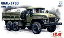ICM URAL-375 Army Truck makett