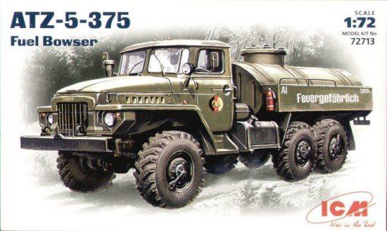 ICM ATZ-5-375 Fuel Bowser makett