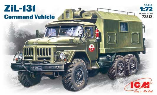 ICM SOVIET ZIL-131 COMMAND VEHICLE