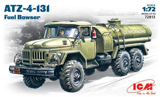 ICM ATZ-4-131 FUEL BOWSER (ZIL-131) makett