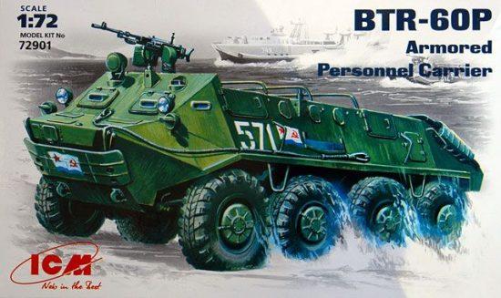 ICM BTR-60P Armored Personnel Carrier makett