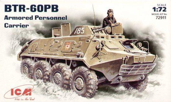ICM Russian BTR-60PB Armoured Personnel Carrier makett