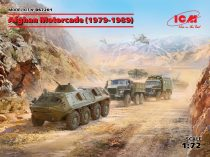 ICM Afghan Motorcade URAL-375D, URAL-375A, ATZ-5-375, BTR60PB makett