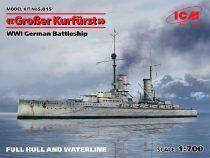 ICM Großer Kurfürst (Full hull) WWI German Battleship makett