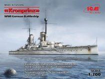 ICM Kronprinz WWI German Battleship makett