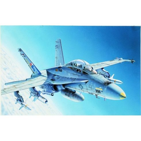 Italeri F/A 18 Hornet Wild Weasel C/D makett
