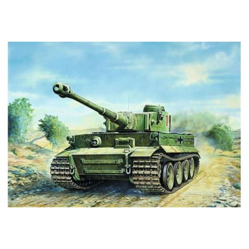Italeri TIGER I Ausf. E/H1 makett