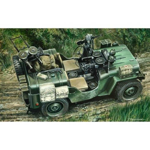 Italeri COMMANDO CAR makett
