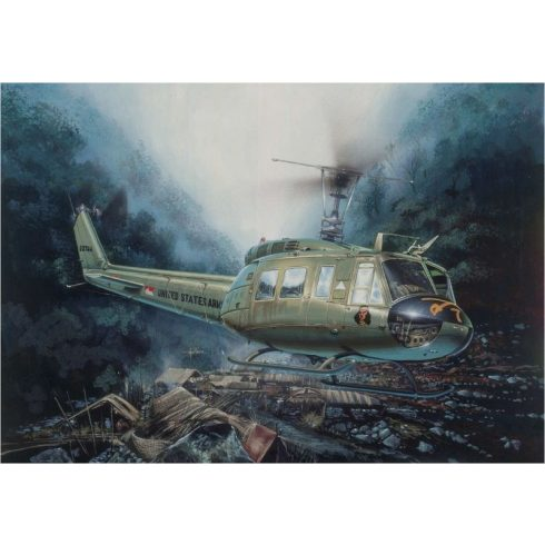 Italeri UH-1D Slick makett