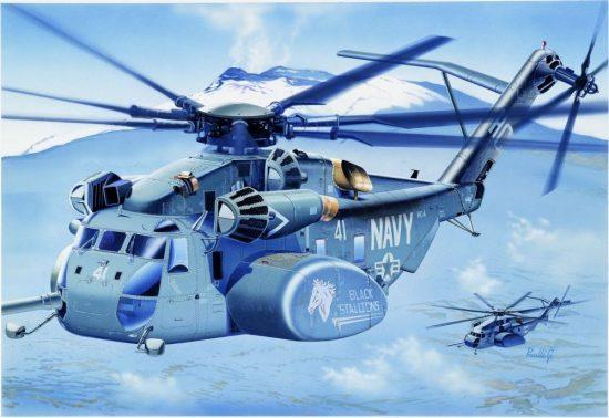 Italeri MH-53 E Sea Dragon makett