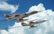 Italeri F-104 STARFIGHTER G/S - Upgraded Edition RF makett