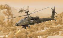 Italeri AH-64D Longbow Apache makett