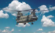 Italeri Chinook HC.2 CH-47F makett
