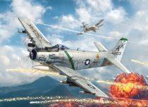 Italeri A-1H SKYRAIDER makett