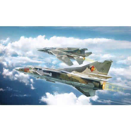 Italeri MiG-23 MF/BN FLOGGER makett